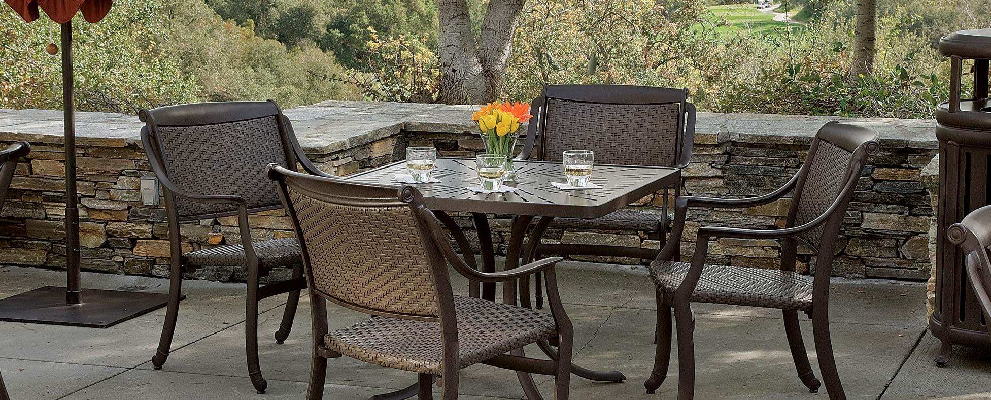 Taking The Green Initiative Green Living Tropitone - Tropitone outdoor furniture