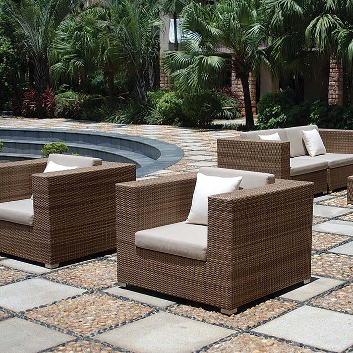 outdoor lounge chair - Tropitone Patio Furniture