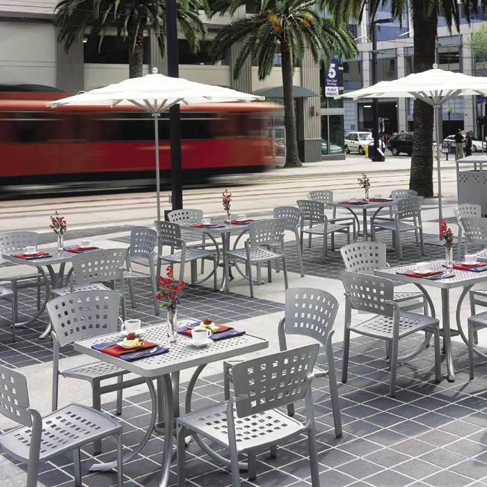 Charming Outdoor Restaurant Furniture