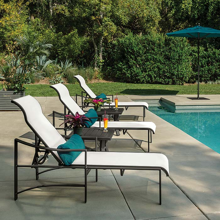 outdoor sling furniture - Tropitone Patio Furniture