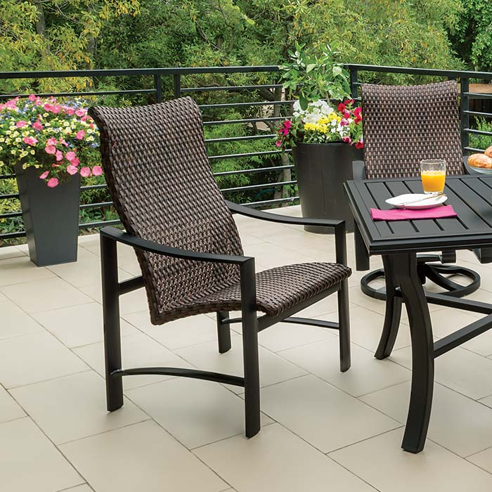 outdoor woven furniture - Tropitone Patio Furniture