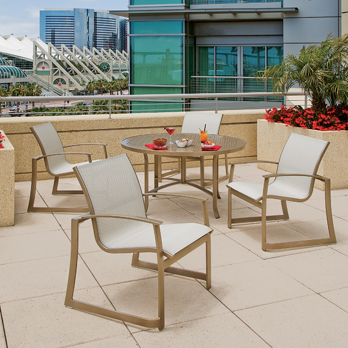 contemporary sling outdoor furniture - MainSail Sling Tropitone