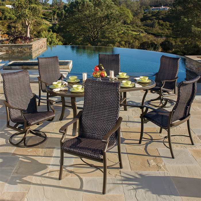 woven patio furniture - Tropitone Patio Furniture