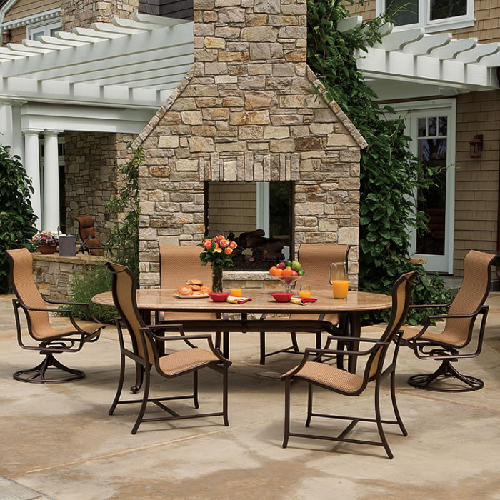 view larger image the windsor outdoor furniture - Tropitone Patio Furniture