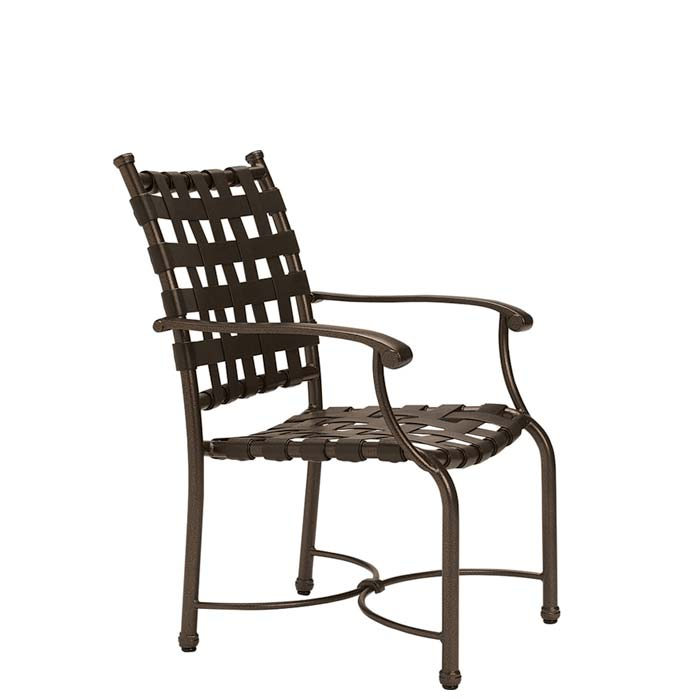 Sorrento Strap Dining Chair Outdoor Patio Furniture