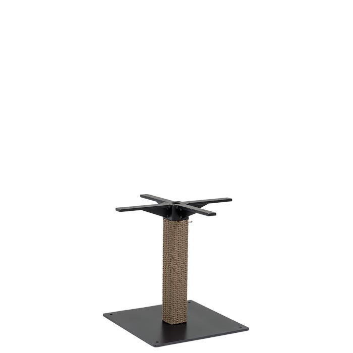 Evo Woven Pedestal Dining Table Base