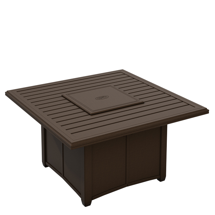 Fire Pit Covers Round 48 48 Square Banchetto Fire Pit