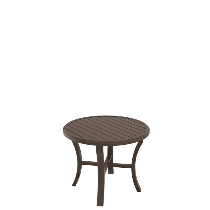 banchetto 36 quot round dining table tropitone