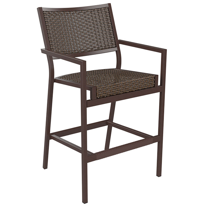 Cabana Club Woven Bar Stool Tropitone