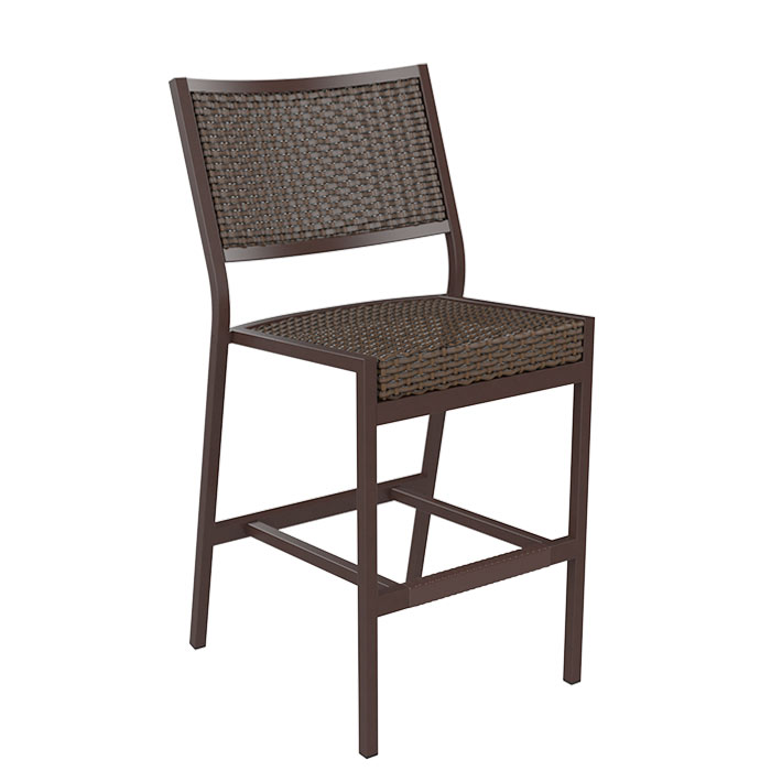 Cabana Club Woven Armless Counter Height Stool Tropitone