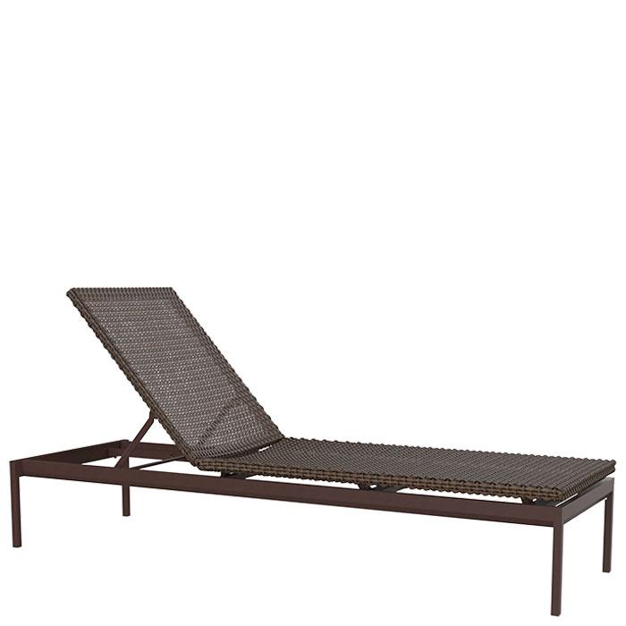 Cabana club woven 15 armless chaise lounge tropitone for Armless chaise lounge
