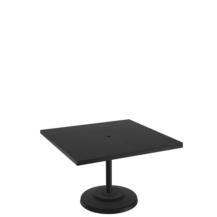 Ion 42 Square Kd Pedestal Dining Umbrella Table