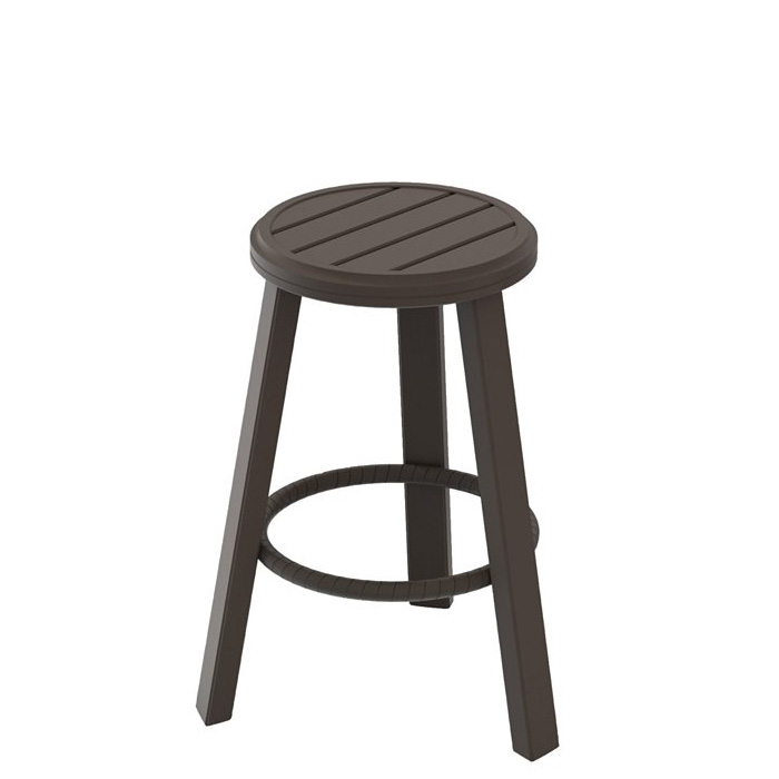 Banchetto 25 Backless Stationary Bar Stool Tropitone