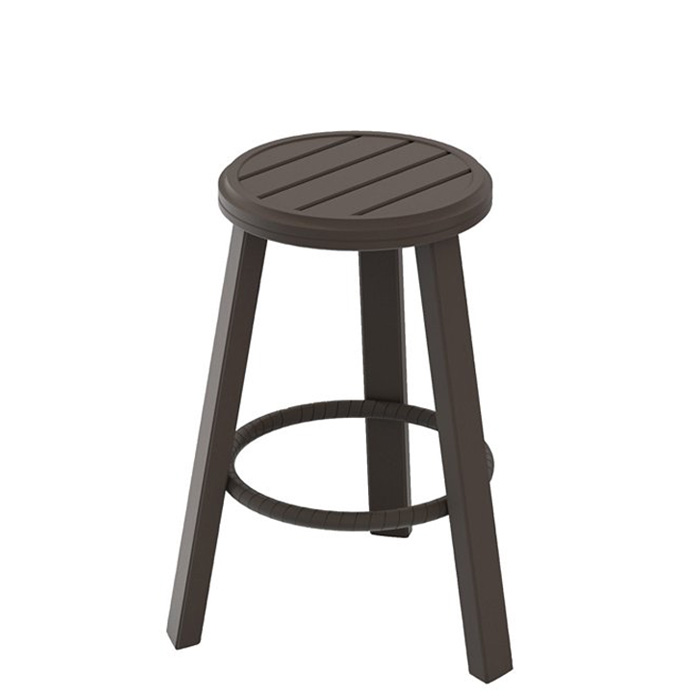 Banchetto 28quot Backless Stationary Bar Stool Tropitone : banchettobacklessbarstool401126 280 from www.tropitone.com size 700 x 700 jpeg 36kB
