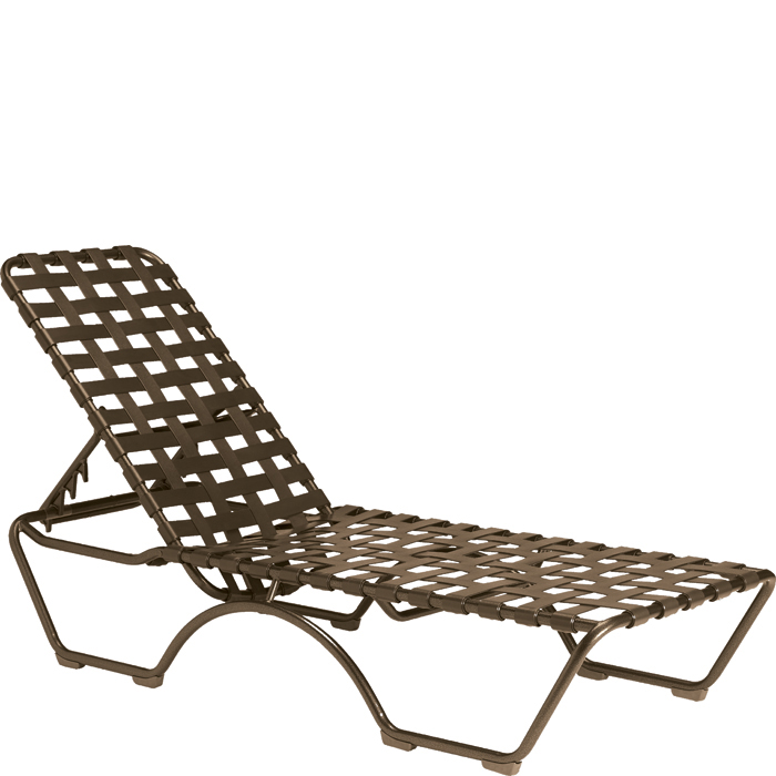 Kahana Cross Strap Chaise Lounge Tropitone