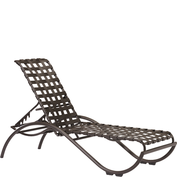 La Scala Strap Chaise Lounge  sc 1 st  Tropitone : strap chaise lounge - Sectionals, Sofas & Couches