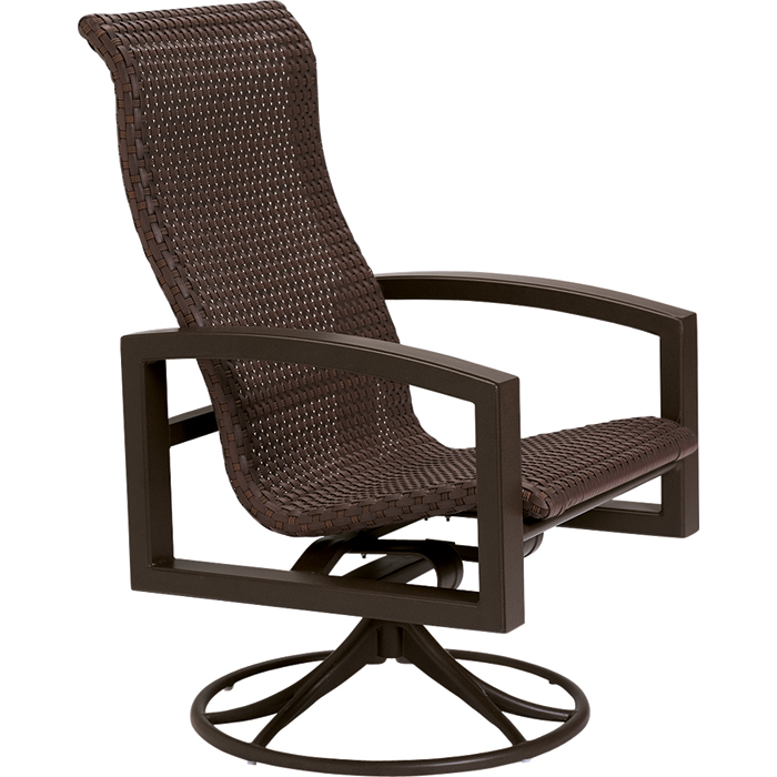 Lakeside Woven Swivel Rocker Tropitone