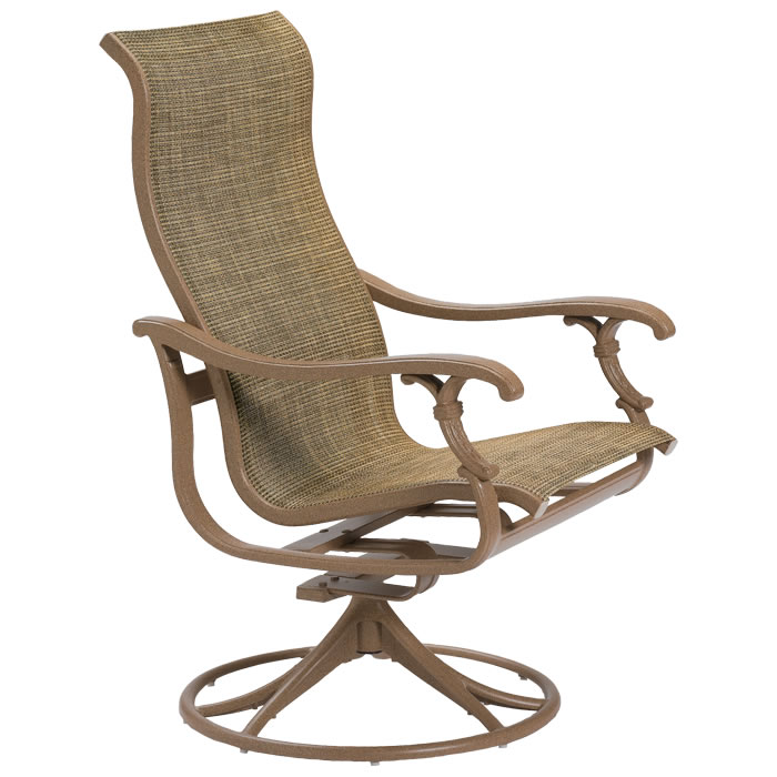Ravello Sling High Back Swivel Rocker