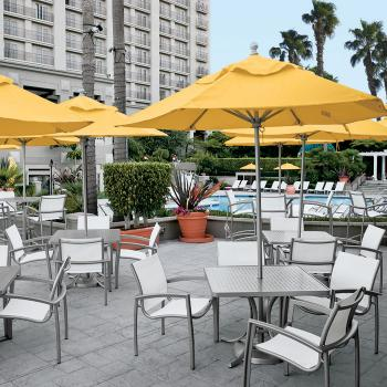 South Beach Relaxed Sling Beach Chairs Tropitone