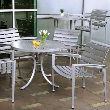 outdoor aluminum cast furniture