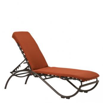 La Scala Strap Chaise Lounge Outdoor Patio Furniture