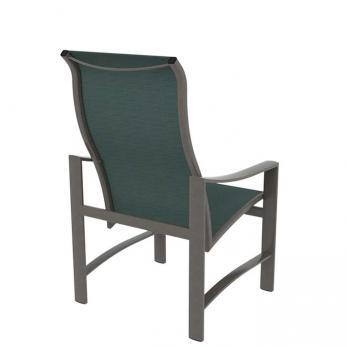 Kenzo Sling High Back Dining Chair Tropitone
