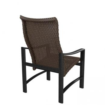 Kenzo Woven High Back Dining Chair Outdoor Patio