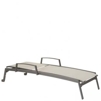 Elance Relaxed Chaise Lounge With Arms Amp Wheels Outdoor