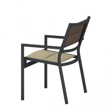 Cabana Club Padded Sling Dining Chair Tropitone