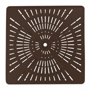 La Stratta 42 Quot Square Kd Pedestal Dining Umbrella Table