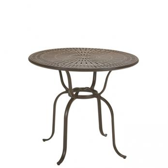 "Spectrum 43"" Round KD Bar Umbrella Table"