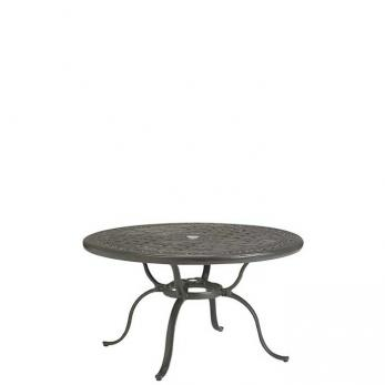 """Cast Aluminum Round 43"""" Chat Table"""