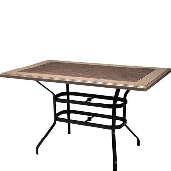 "KD Bar Height Base for 69"" x 43"" Rectangular Top 