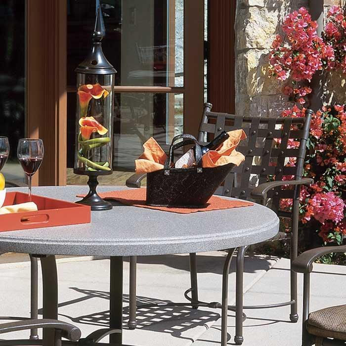 Stoneworks® Faux Granite Finishes, Outdoor Furniture