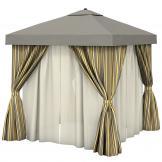 stylish outdoor cabana
