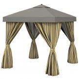 Eccentric patio cabana