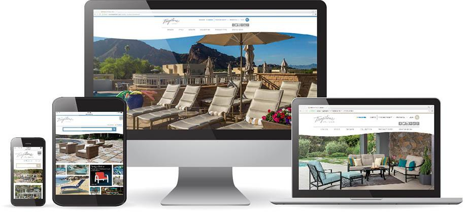Irvine Ca December 16 2017 The Tropitone Furniture Co Inc An Outdoor Manufacturer Announces Newly Redesigned Websites For Brands