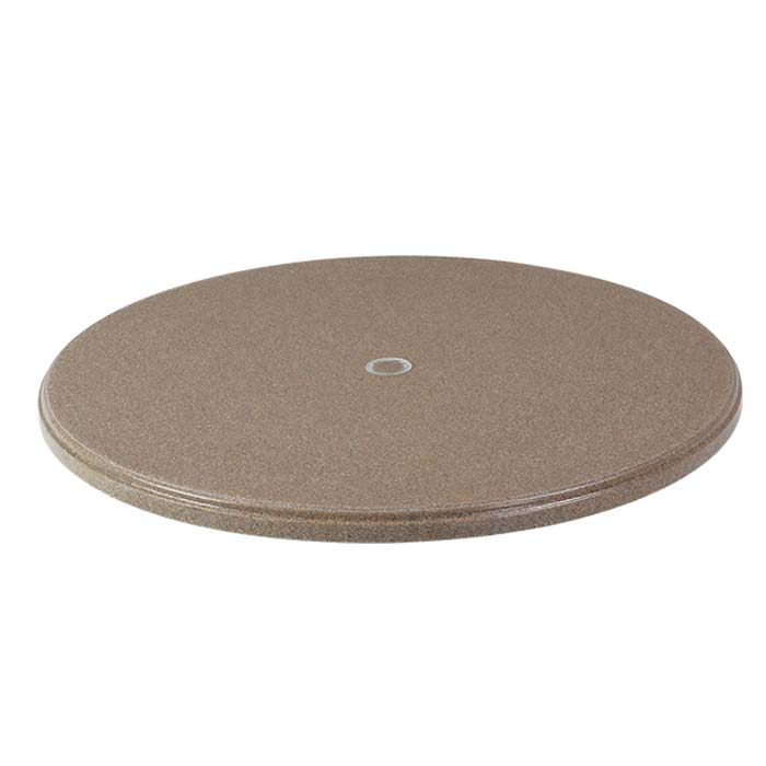 48 Round Faux Granite Table Top With Umbrella Hole